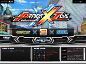 Project X Zone Website Opens With a Bang