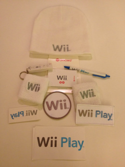 Joe's Wii launch swag
