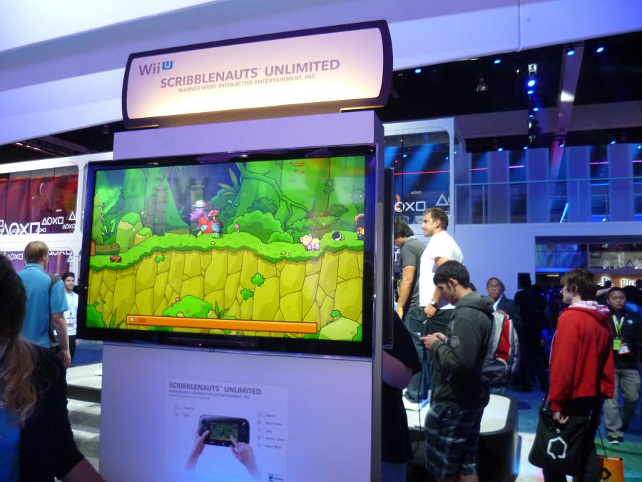 Scribblenauts Unlimited on Wii U, looking glorious