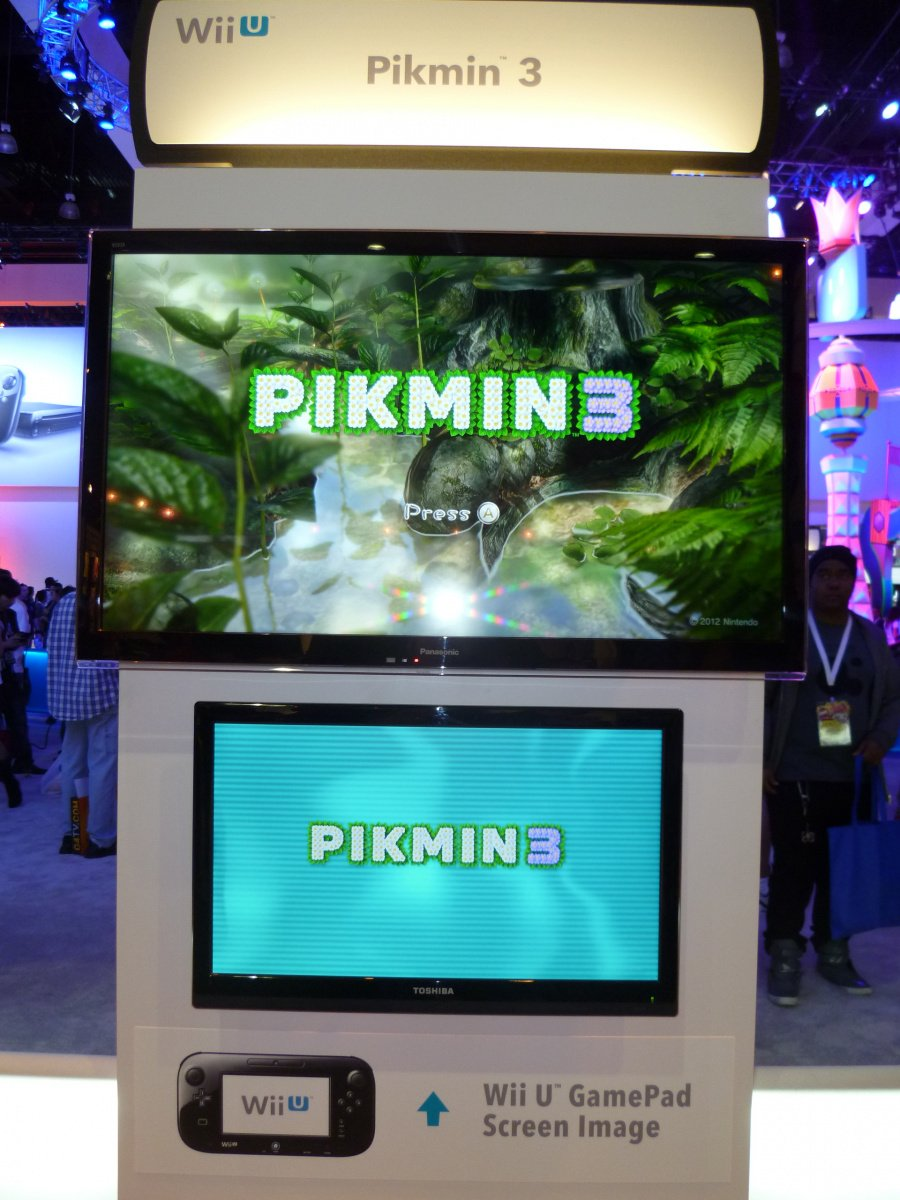 Pikmin 3 - it's real!