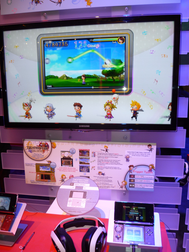 The Theatrhythm stand is a little bit cute