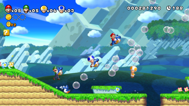 New Super Mario Bros. U - baby Yoshis!