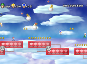 New Super Mario Bros. Wii U Screenshot Comparison