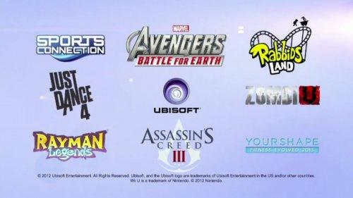Wii U Games Line Up : E ubisoft reveals wii u line up nintendo life