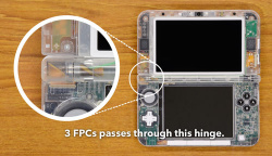 A naked 3DS XL