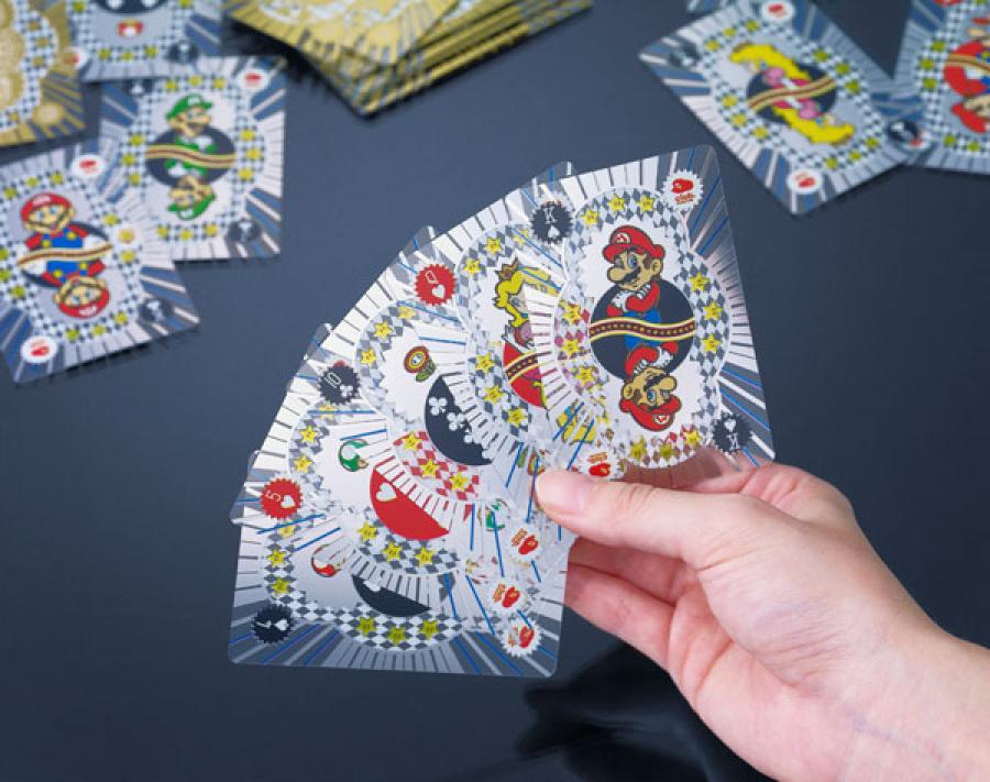Platinum - Mario playing cards
