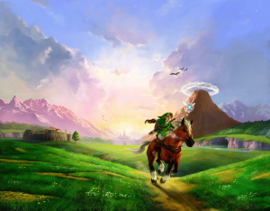 Link and Epona together again