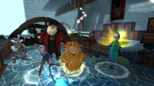 rise of the guardians set to protect the holidays on wii u