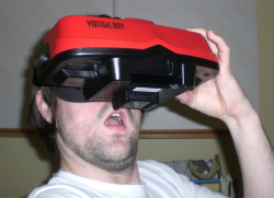 Damien will be editing the site via his Virtual Boy, of course.