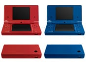 Matte Red and Matte Blue DSi Models Hit North America This Week