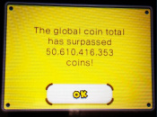 New Super Mario Bros. 2 Global Coin Total Surpasses 50 Billion