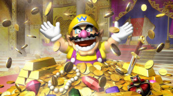 Wario has already started collecting, catch him up!