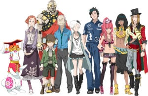 The cast of Zero Escape