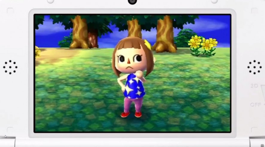 Don't be glum, Animal Crossing 3DS is out soon!