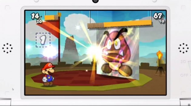 Paper Mario on 3DS
