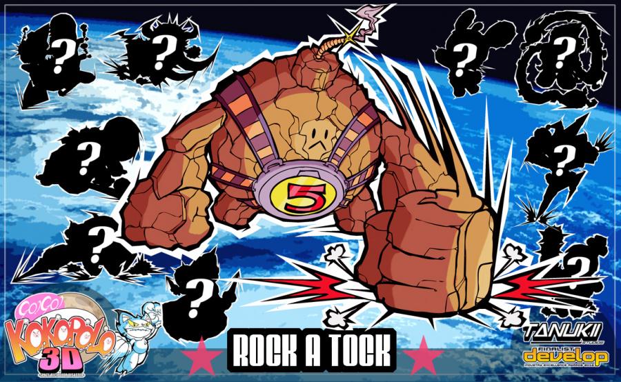 Go Go Kokopolo 3 D BOSS ROCK a- TOCK