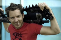"Bleszinski has a very loose understanding of the term ""concealed weapon"""
