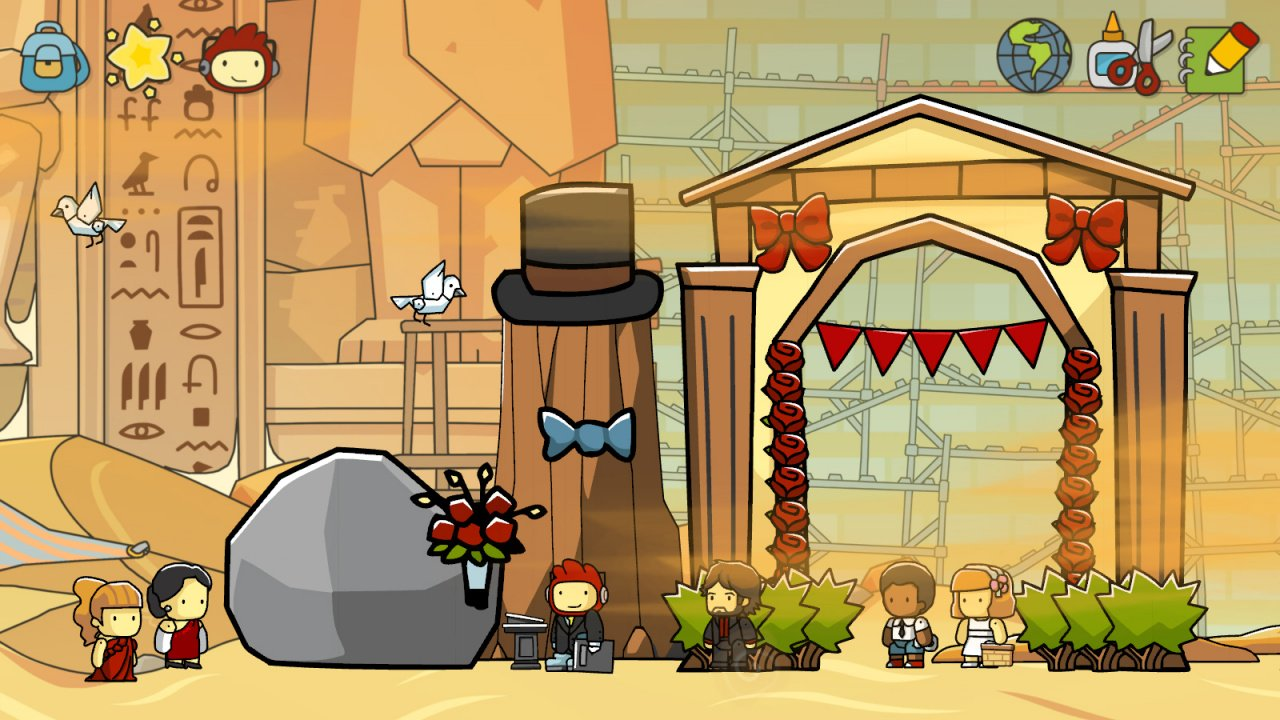 Scribblenauts Unlimited Arrives at Wii U Launch in NA