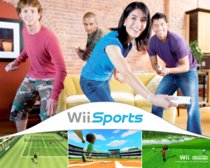 Graphics mattered little in Wii Sports