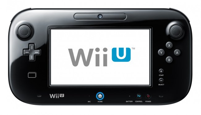 The Black Wii U GamePad