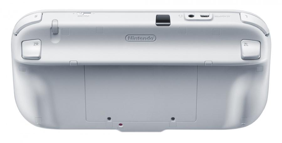 The back of the Wii U GamePad