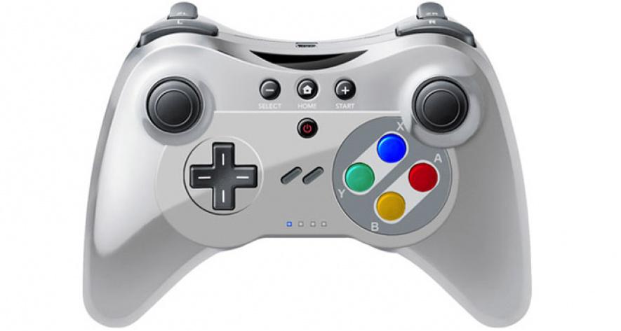 Wii U- SNES Controller