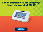 Burger King Reveals Wii U Promotional Toys
