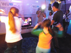 To prove it wasn't a fluke, here's some other people enjoying Just Dance 4