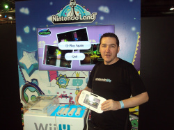 Posing with Wii U is mandatory