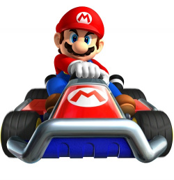 Mario is racing to the shops to buy himself a bigger SD card