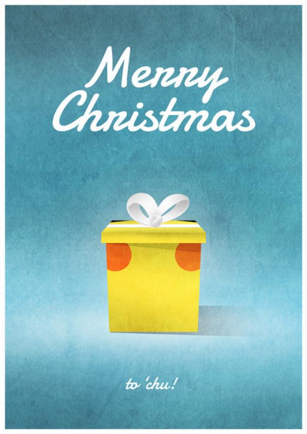 Pikachu Christmas Card Grande