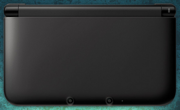 The all-black 3DS XL looks mean and moody