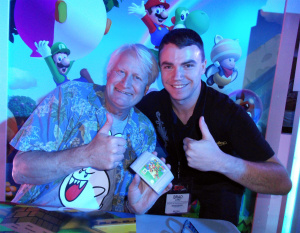 Charles even signed Nintendo Life correspondent Brad Long's copy of Super Mario 64!