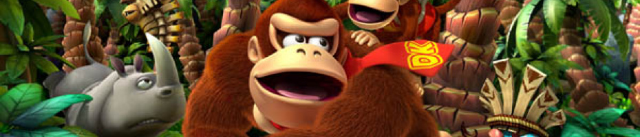 Donkey Kong Country Returns Art