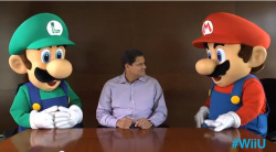 Reggie and the bros. want to know what you're playing (and wish you'd tweet about Wii U)
