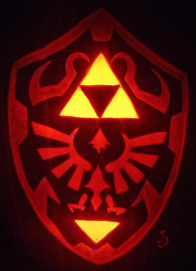 Hylian Shield Pumpkin by Joh Wee D4 Dqqmw