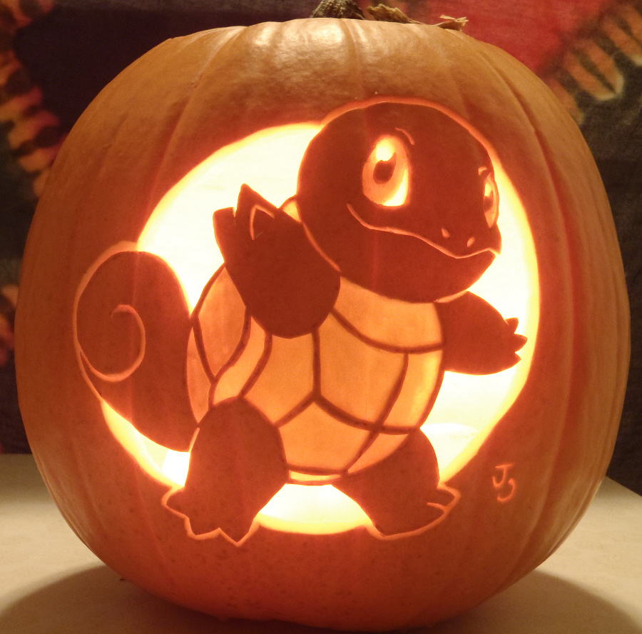Squirtle Pumpkin Light by Joh Wee D5 I1 X6 R