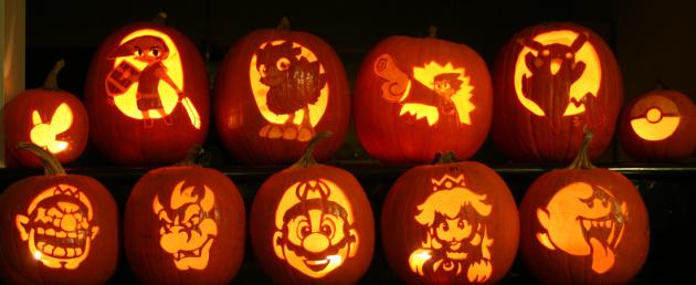 11 Pumpkins of Halloween by Joh Wee