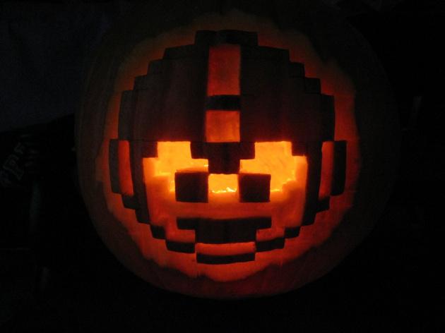 Mega Man Pumpkin by Mgperez D31 S9 Gd