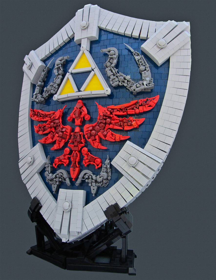 Hylia Shield Legos