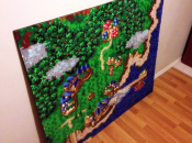 47,096 Perler Beads Made This Awesome Chrono Trigger Artwork