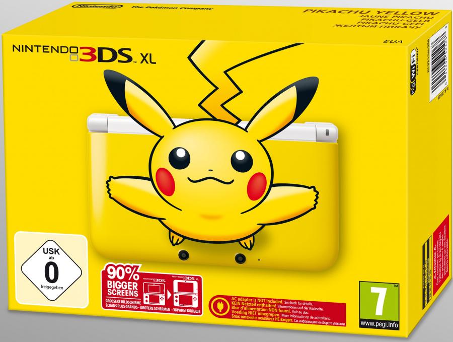 Pikachu 3 Dsxl