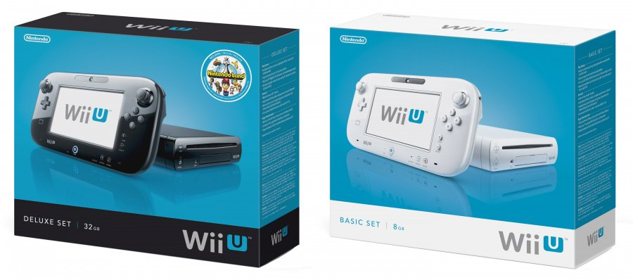 Wii U packaging