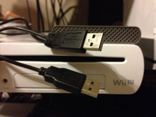 Wii U & Y Cable 2