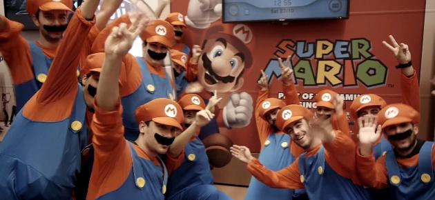 Marioflashmob