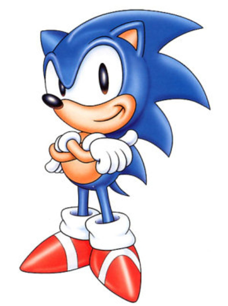 This is an image of Gorgeous Sonic the Hedgehog Galleries
