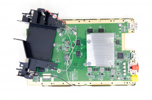 There's a mother lode of parts on this motherboard (image credit: AnandTech)