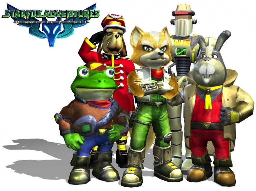 The game was originally entitled Star Fox Adventures: Dinosaur Planet, but the second part was dropped