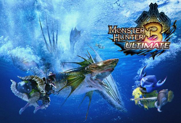 Monster Hunter 3- Ultimate Artwork