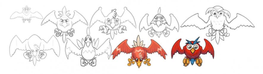 The original bird concepts